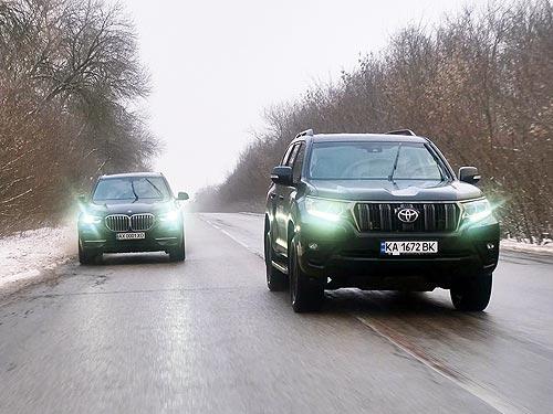 Toyota Prado vs BMW X5: Что все-таки выбрать?